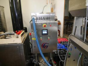 Fabrication du jus de pommes